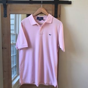 Vineyard Vines pink Polo shirt